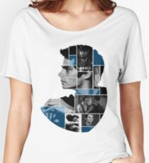 Dylan O'Brien Squares Women's Relaxed Fit T-Shirt