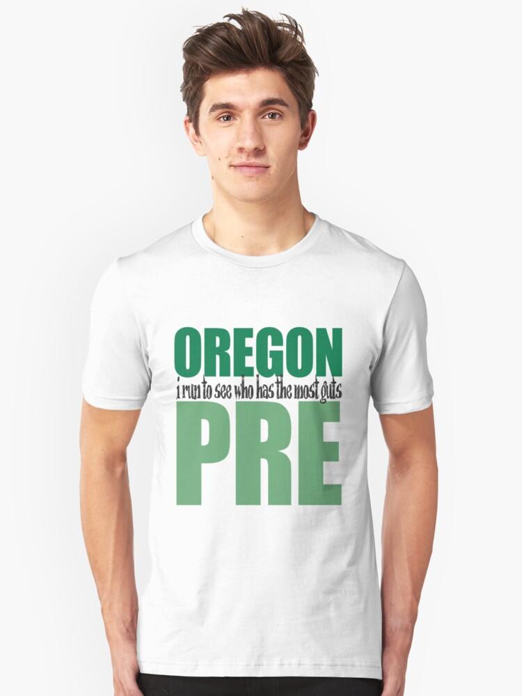 Steve Prefontaine Legend Unisex T-Shirt Front