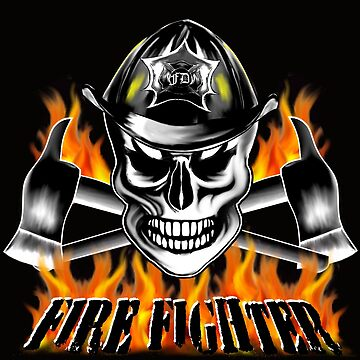 Firefighter Skull 4 by sdesiata