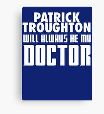 Doctor Who - Patrick Troughton will always be my Doctor Canvas Print