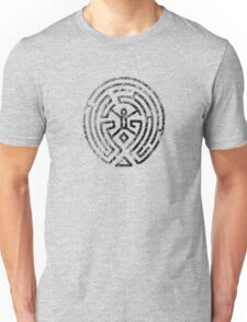Westworld Maze Original Black Distressed Unisex T-Shirt
