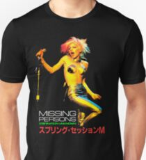 MISSING PERSONS Dale Bozzio Tour Japan Unisex T-Shirt