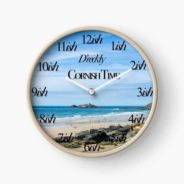 Cornish Time Godrevy Clock