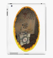 Orange Portal Unwalled iPad Case/Skin