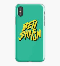 Ben & Shaun logo iPhone Case/Skin