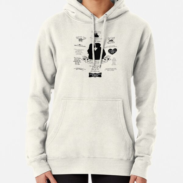 """Captain Swan """"Iconic Quotes"""" Silhouette Design 2 Pullover Hoodie"""