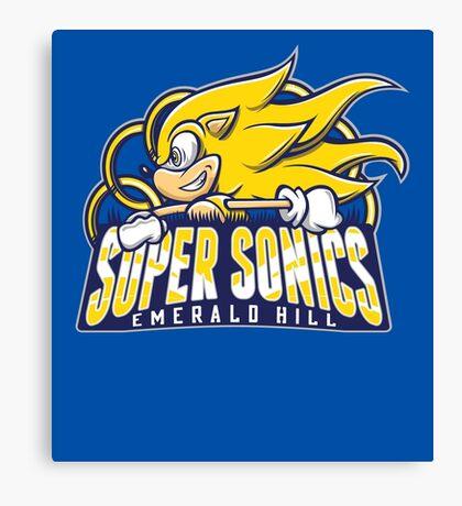 Super Sonics Canvas Print
