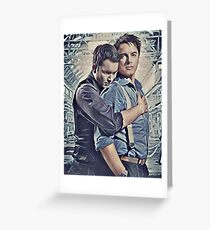 Little Ditty 'Bout Jack and Ianto Greeting Card