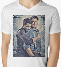 Little Ditty 'Bout Jack and Ianto Mens V-Neck T-Shirt