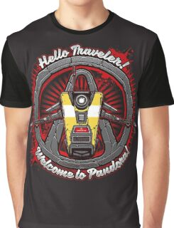 Borderlands - Claptrap art Graphic T-Shirt
