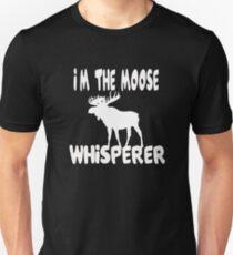 Moose Whisperer Unisex T-Shirt