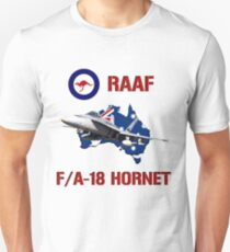 F/A-18 Hornet of the RAAF Unisex T-Shirt