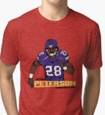 Adrian Peterson Tri-blend T-Shirt