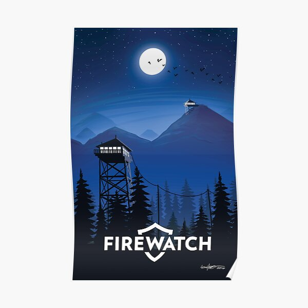 Firewatch (fixed) Poster