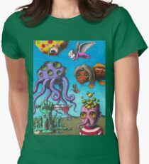 Trippy  Womens Fitted T-Shirt