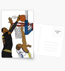 The block Postcards