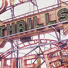 Coney Thrills by stereognomes