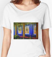 Marokkanisch in Blau Loose Fit T-Shirt