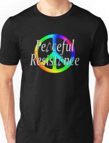 #Peaceful #Resistance - Rainbow, small Unisex T-Shirt