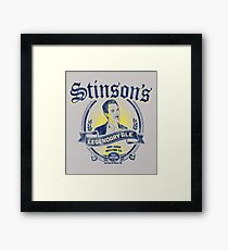 Stinson's Legendary Ale Framed Print