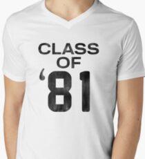 Class of 81 Men's V-Neck T-Shirt