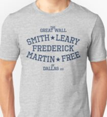 The Great Wall Of Dallas 2.0 (Round) Unisex T-Shirt