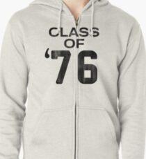 Class of 76 Zipped Hoodie