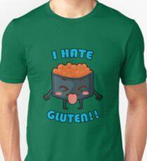 I Hate Gluten! Gluten-Free Awareness Clothing Unisex T-Shirt
