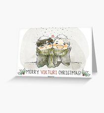 Vikturi Weihnachtskarte Grußkarte