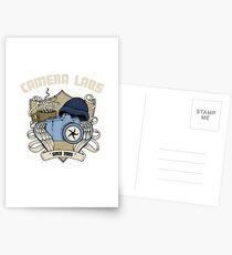 Cameralabs Photography Crest (Camera, Coffee, Beanie) Postcards