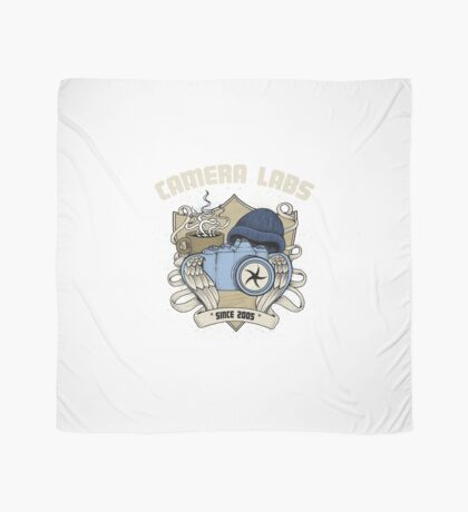 Cameralabs Photography Crest (Camera, Coffee, Beanie) Scarf