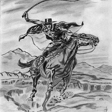 Zorro sketch  by Fl0werdauqhter
