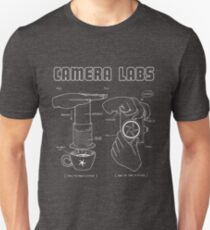 Cameralabs Photography and Coffee (White artwork) T-Shirt