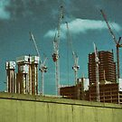 Construction Works in Stratford by Jasna