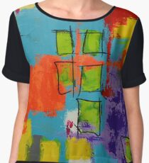 """A Brighter Day"" Women's Chiffon Top"