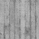 Board Marked Concrete Texture, Vertical by John Jovic