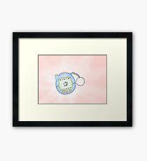 Pikachu Tamagotchi ! Framed Print