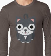 Lovely Cat Emoji Shocked and Surprised Look T-Shirt