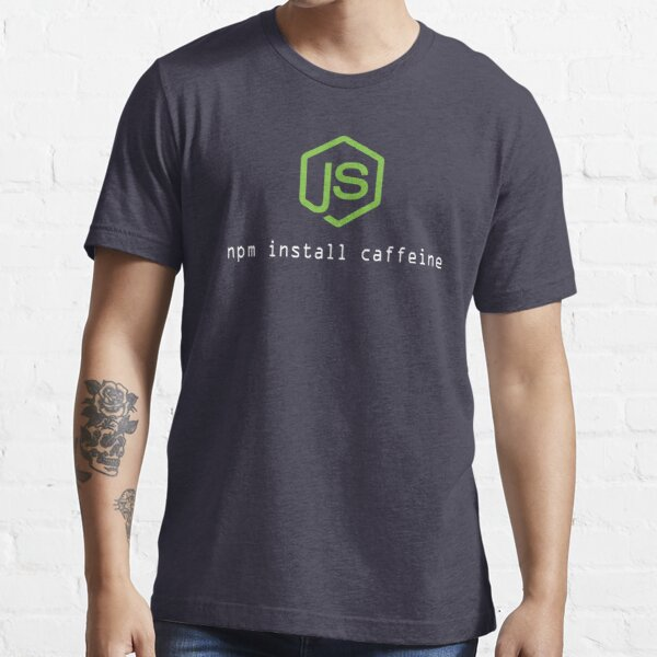 Perfect shirt for Node.js Programmer Essential T-Shirt