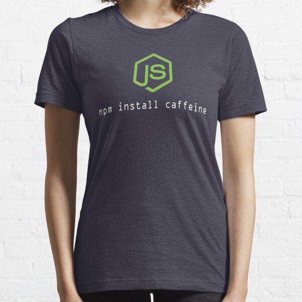 Camiseta perfecta para el programador Node.js Camiseta esencial