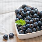I Heart Blueberries by Jessica Manelis