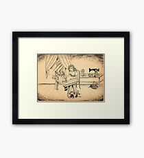 Tammy The Little Doll Girl  Framed Print