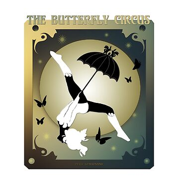 The Butterfly Circus - The Girl over the Moon by InsectsAngels