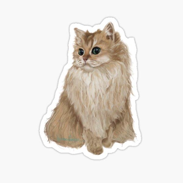 Smoothie The cat Sticker