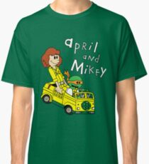 April and Mikey Classic T-Shirt