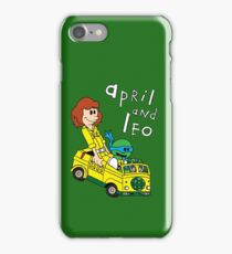 April and Leo iPhone Case/Skin