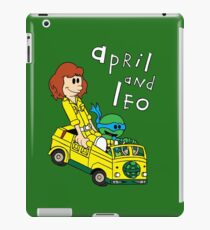 April and Leo iPad Case/Skin