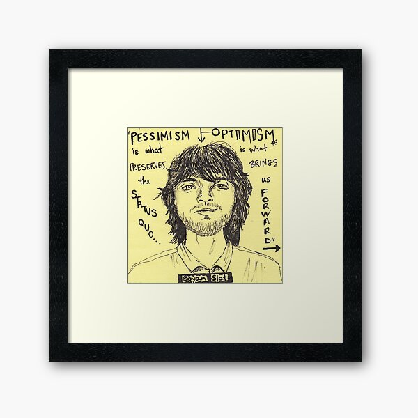 Boyan Slat Framed Art Print