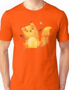 Cute Adorable Watercolor Woodland Baby Fox Unisex T-Shirt