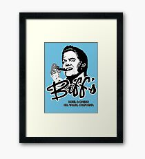 Biff's Hotel and Casino Framed Print